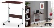 Adjustable Height Wood Top Laptop Desk $23.18 + FREE pickup On Walmart!!