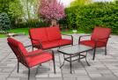 PRICE DROP!! Mainstays 4-Piece Patio Furniture Set