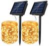 Solar Powered Fairy String Lights $6.49-$14.99 on Amazon